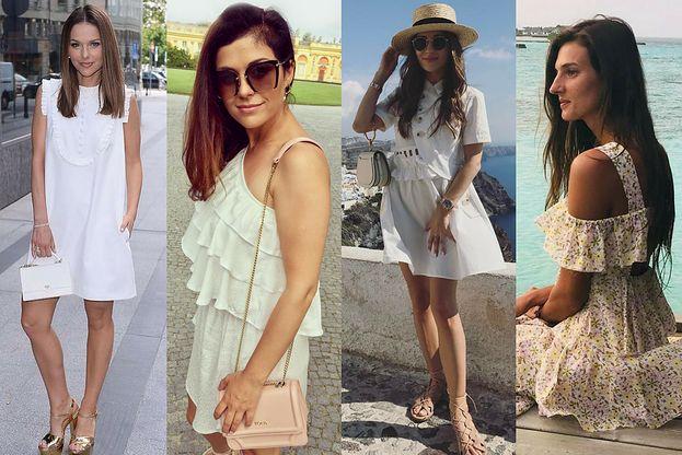 bd09043be7 Białe sukienki na lato - najmodniejsze propozycje - PUDELEK