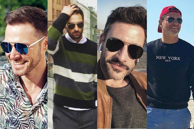 Jakie okulary aviator wybierają celebryci?