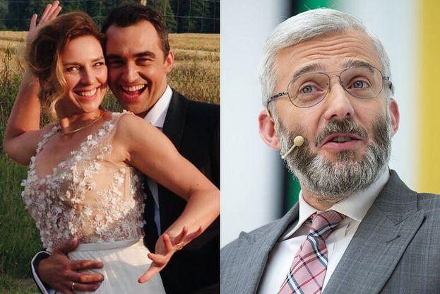 """Była żona Huberta Urbańskiego WYSZŁA ZA MĄŻ! Jej wybrankiem jest znany aktor z """"Na Wspólnej"""" (FOTO)"""