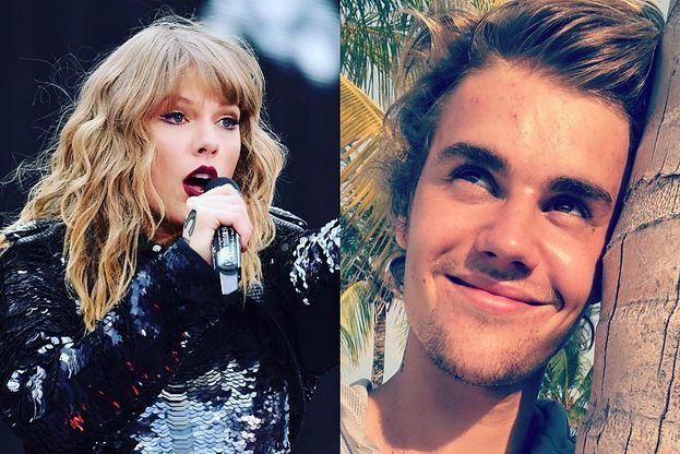 Justin Bieber ZNOWU dogryza Taylor Swift? Zrobił parodię filmiku, na którym piosenkarka płacze z powodu banana... (WIDEO)