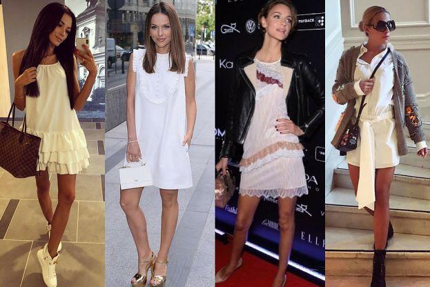 Dodatki Do Białej Sukienki Jak Ożywić Małą Białą Pudelek