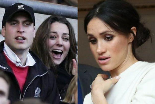 Kate Middleton i książę William składają życzenia Meghan Markle. Fani zarzucają im uszczypliwość