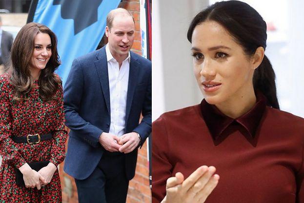 Kate Middleton i książę William KOPIUJĄ Meghan i Harry'ego? Też zabrali dzieci do pubu na tani obiad...