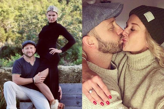 Borys Szyc i Justyna Nagłowska spodziewają się dziecka. Gwiazdy gratulują: Maffashion, Musiał, Włodarczyk...