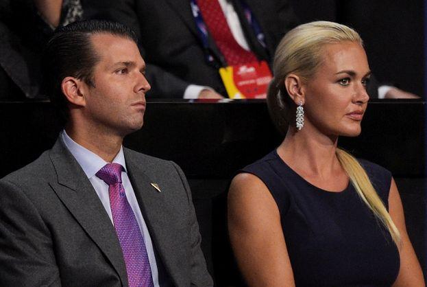 Syn Donalda Trumpa rozwodzi się z żoną! Wszystko przez... Twittera?