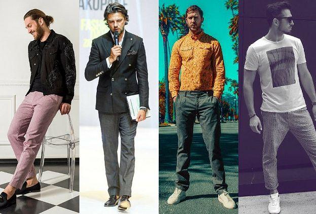 2705107d77 Męskie spodnie lniane - trendy na lato - PUDELEK
