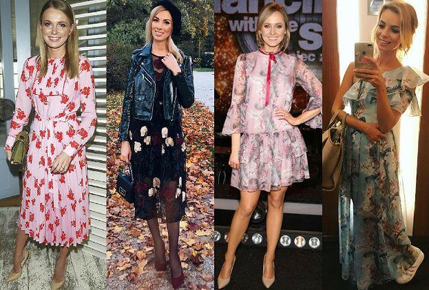 Sukienki W Kwiaty Na Wesele Inspirowane Stylem Gwiazd Pudelek