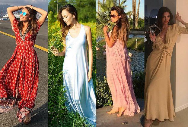 1f8b615831 Najpiękniejsze sukienki maxi na lato - jakie wybierają gwiazdy ...