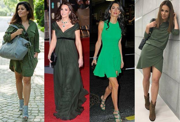 Najciekawsze sukienki w kolorze zielonym - trendy