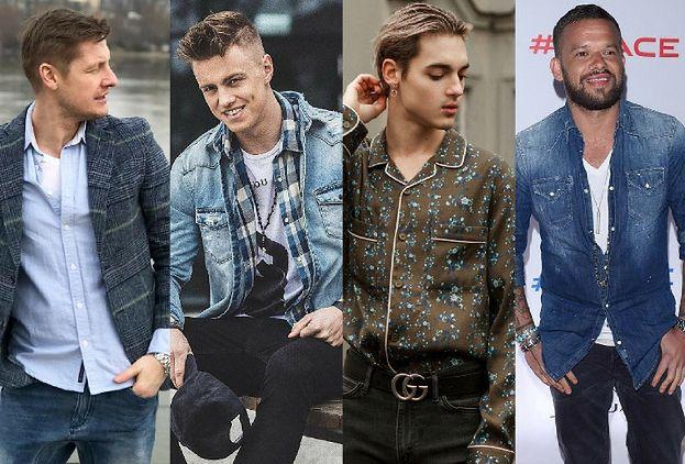 Jakie koszule casualowe noszą celebryci? Przegląd trendów