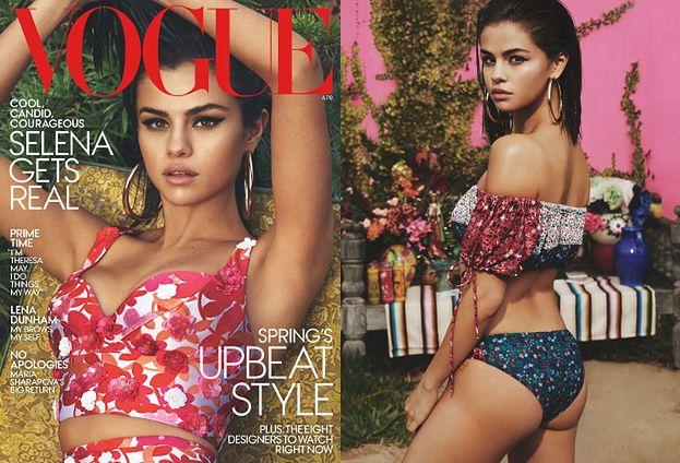 """Pupa Seleny Gomez w amerykańskim """"Vogue'u"""""""