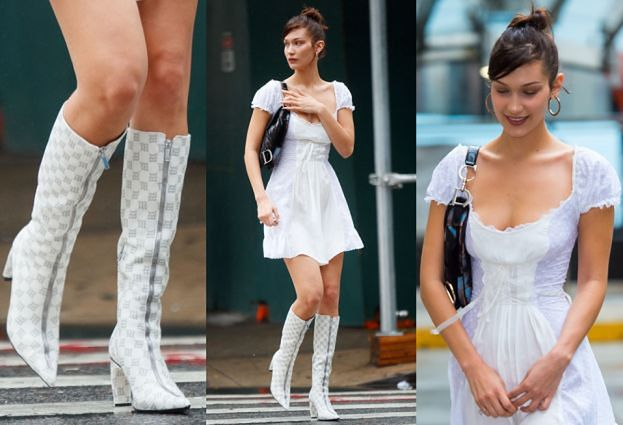 Bella Hadid w butach polskiej marki!