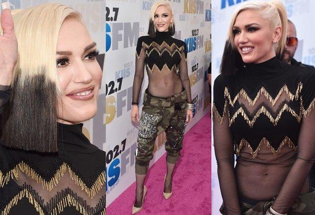 Płaski brzuch Gwen Stefani&