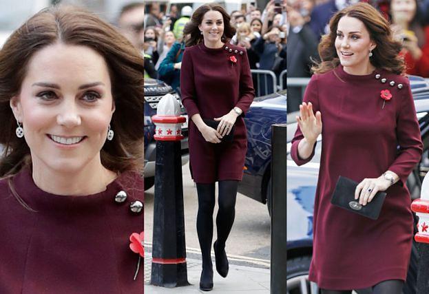 87d0eec178 Ciężarna Kate Middleton w skromnej stylizacji za 45 tysięcy - PUDELEK