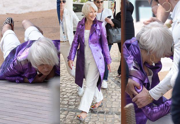 Helen Mirren PRZEWRÓCIŁA SIĘ w Cannes!