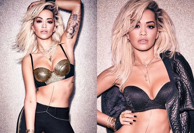 Rita Ora reklamuje bieliznę!