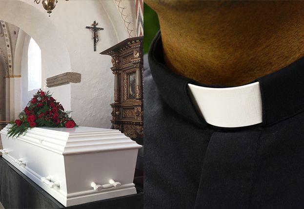 """Awantura na pogrzebie 15-latka! Ksiądz potępił zmarłego: """"On nie chodził na religię"""""""