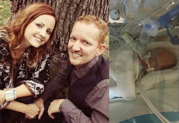 """Matka-katoliczka odmówiła leczenia raka, żeby urodzić córkę! """"Jesteśmy """"pro life"""". Dziecku nie wolno odbierać życia"""""""