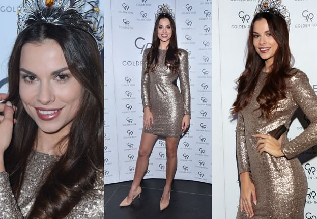 Nowa Miss Polonia odsłania nogi na imprezie
