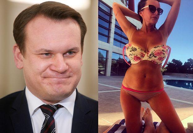 """Dominik Tarczyński żeni się z """"Agą'72""""! """"To wspaniała kobieta"""""""