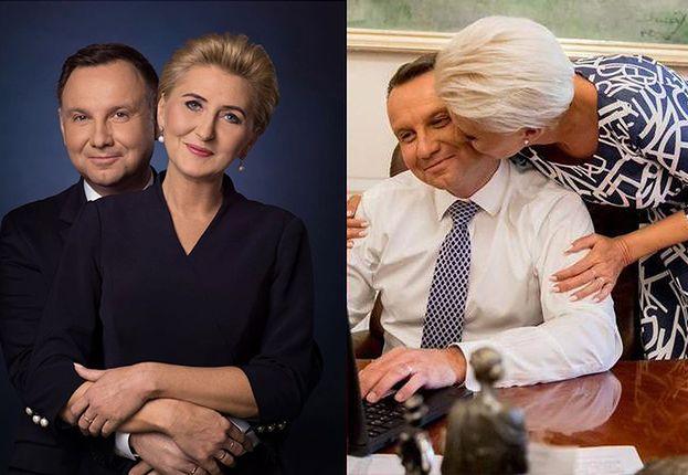 """Andrzej Duda świętuje Walentynki z żoną Agatą. Internauci: """"Ulubiona polska para!"""" (FOTO)"""
