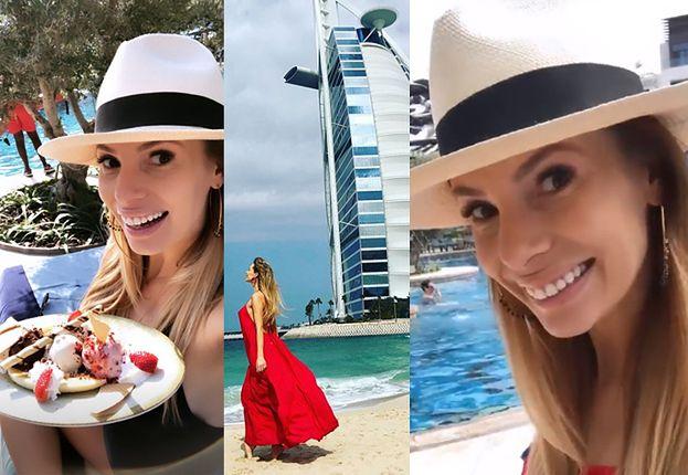 cee7abaa7ac73 Ciężarna Janachowska chwali się pobytem w Dubaju