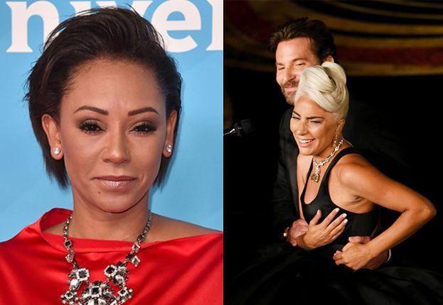 """Mel B krytykuje Lady Gagę za zmysłowy występ z Cooperem na gali Oscarów: """"Złamała babski kodeks!"""""""