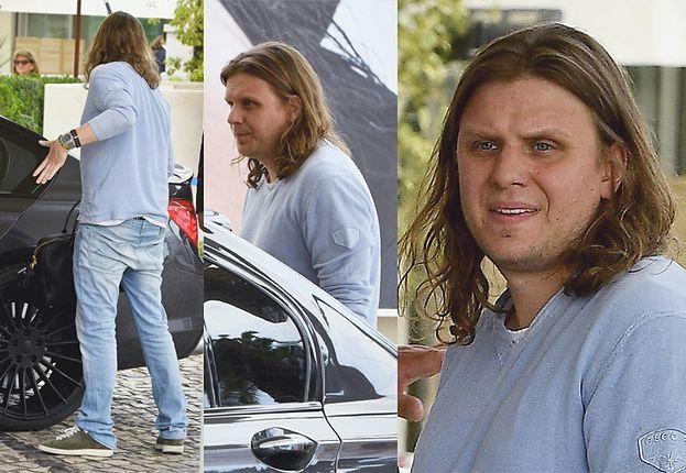 Wymięty Piotr Woźniak-Starak przyjechał do Cannes (FOTO)