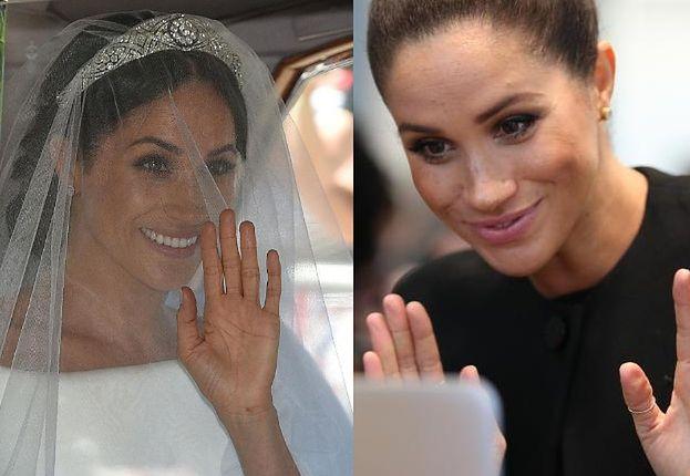 """Projektant sukni ślubnej księżnej Diany ma żal do Meghan: """"Powinna wspierać brytyjskich projektantów"""""""