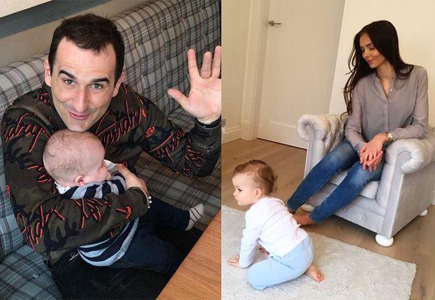 """Misiek Koterski pochwalił się zdjęciem żony z synkiem: """"DAMA Z FRYSICZKĄ"""""""