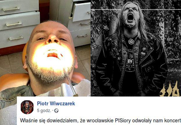 """PiS odwołał koncert metalowy we Wrocławiu? """"KOMUNISTYCZNE METODY TERRORU!"""""""