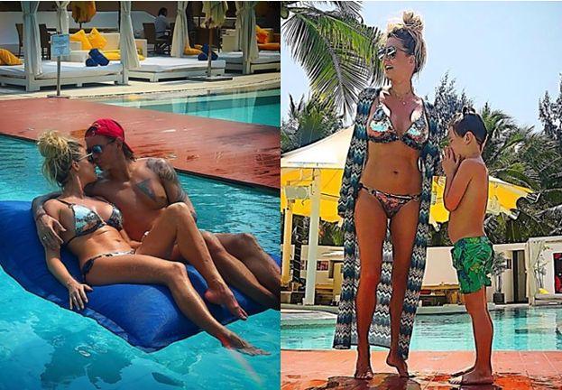 Zakochani Majdanowie chwalą się wysportowanymi ciałami na wakacjach (FOTO)