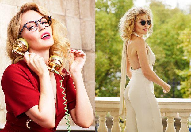 Wiecznie młoda Kylie Minogue promuje okulary własnego projektu