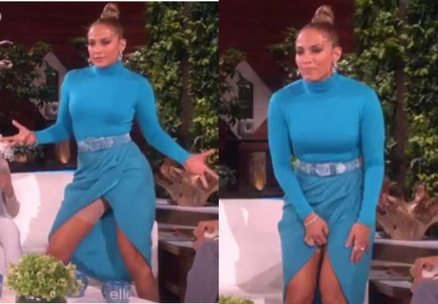 Jennifer Lopez pokazała bieliznę wyszczuplającą na wizji! (FOTO)