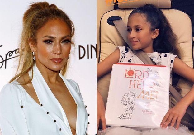 10-letnia córka Jennifer Lopez zostanie PISARKĄ?!