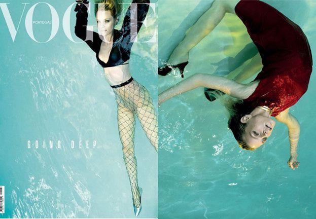"""""""Topielec"""" na kontrowersyjnej okładce """"Vogue Portugal"""""""