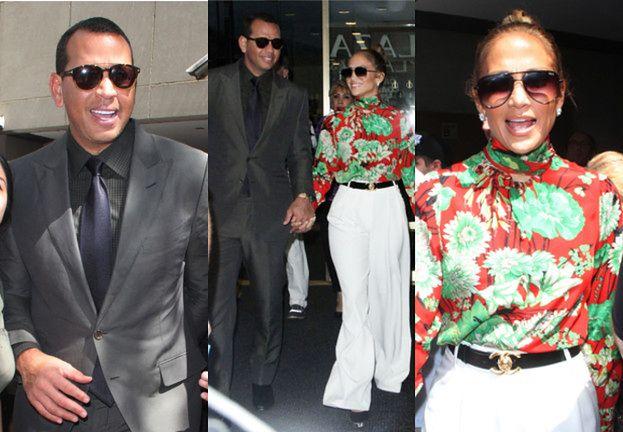 """""""Modna"""" Jennifer Lopez chwali się markowymi ciuchami i torebką za 160 tysięcy złotych"""