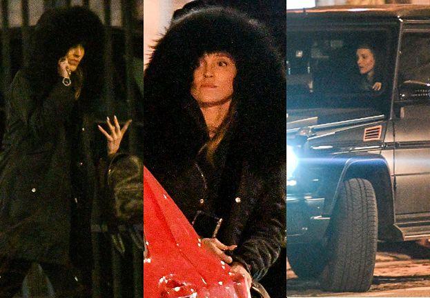 Skwaszona Marina Szczęsna odjeżdża luksusowym samochodem po wizycie u kosmetyczki (FOTO)