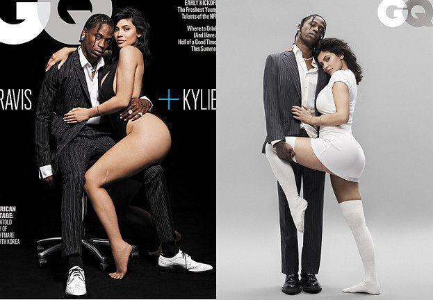 Kylie Jenner i Travis Scott opowiadają o trudach rodzicielstwa na pierwszej wspólnej okładce (FOTO)
