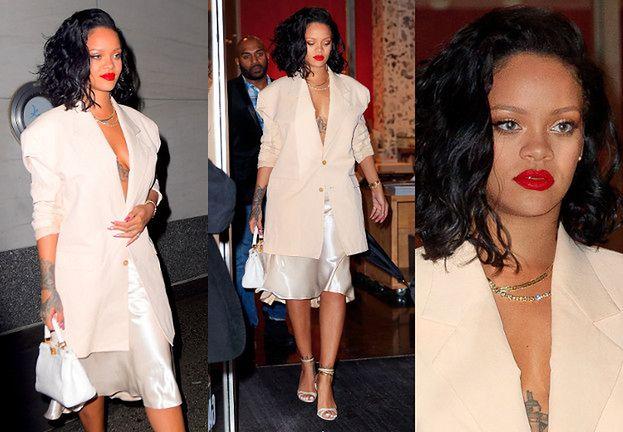 26c71a0b59410 Coraz szczuplejsza Rihanna chwali się torebką Fendi za 90 tysięcy ...