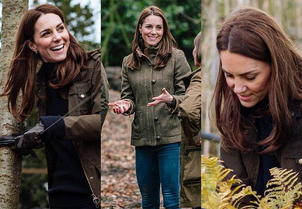 Pałac Kensington udostępnił zdjęcia księżnej Kate pochłoniętej projektowaniem ogrodu (FOTO)