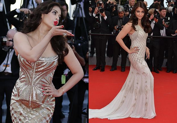 PIĘKNA Aishwarya Rai znów w Cannes! (ZDJĘCIA)