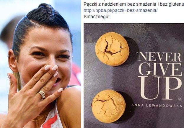 """Pączki Lewandowskiej na Tłusty Czwartek: """"Bez smażenia, bez glutenu!"""""""