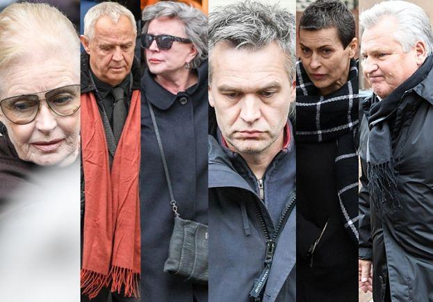 Gwiazdy żegnają Wajdę: Janda, Kondrat, Żebrowski, Tyszkiewicz, Stenka, Kwaśniewski... (ZDJĘCIA)
