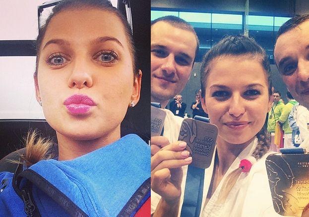 Lewandowska chwali się medalem! (FOTO)