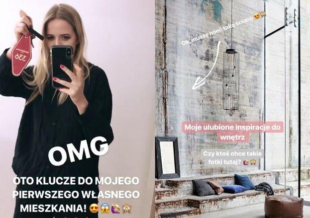 Jessica Mercedes chwali się na Instagramie nowym mieszkaniem! (FOTO)