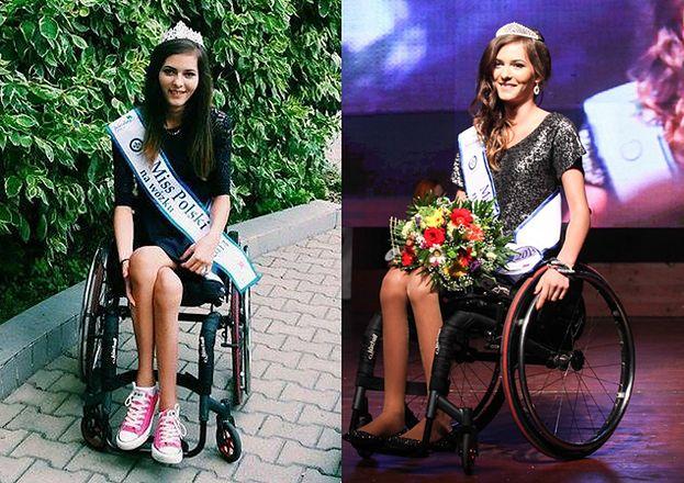 """Miss Polski na wózku: """"Chciałam udowodnić sobie, że DAM RADĘ"""""""