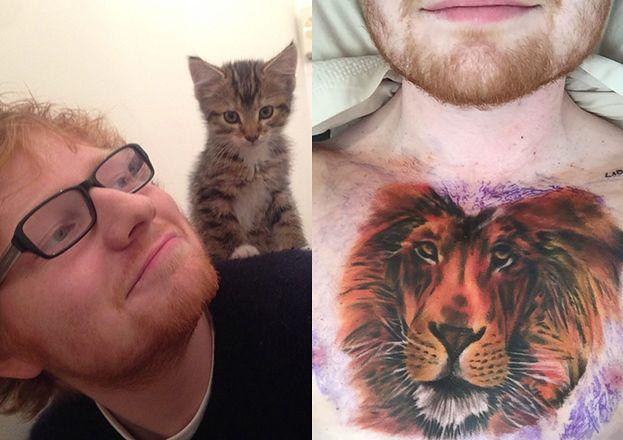 Ed Sheeran Pochwalił Się Nowym Tatuażem Pudelek