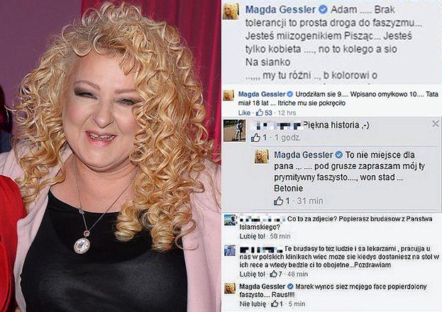 Wesołe statusy Magdy Gessler...