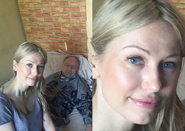 """Magda Ogórek chwali się """"selfie"""" z Powstańcem żyjącym w nędzy. Przesada? (FOTO)"""